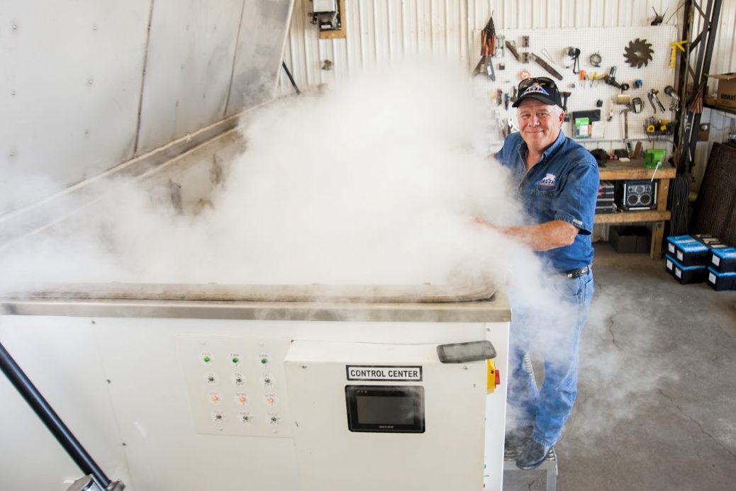 Industrial Cryogenic Engineering's Gary Moeggenberg | Photo By Doug Julian
